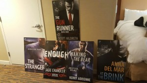 Book covers for RWA16